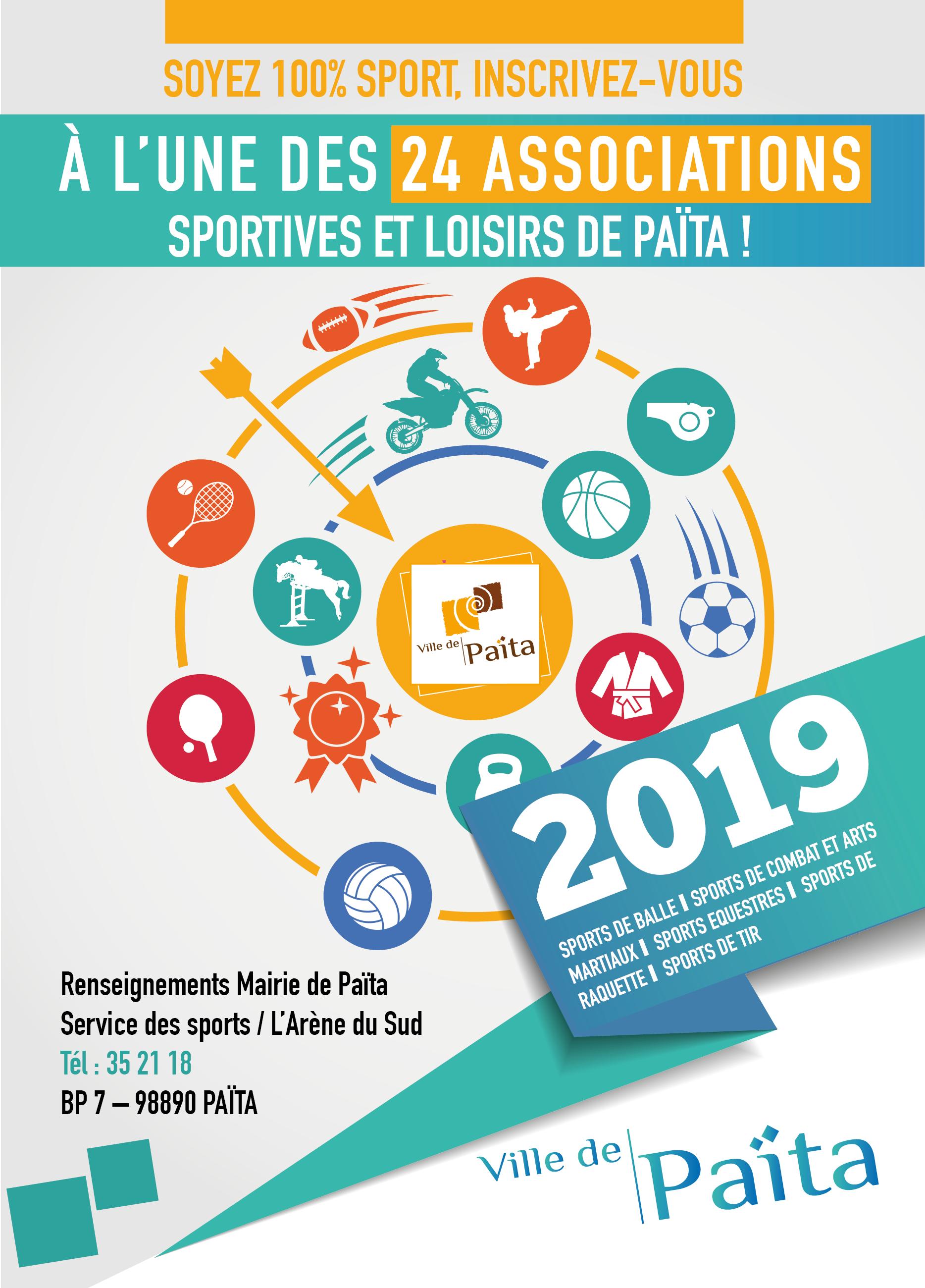 Les associations sportives et loisirs Païta