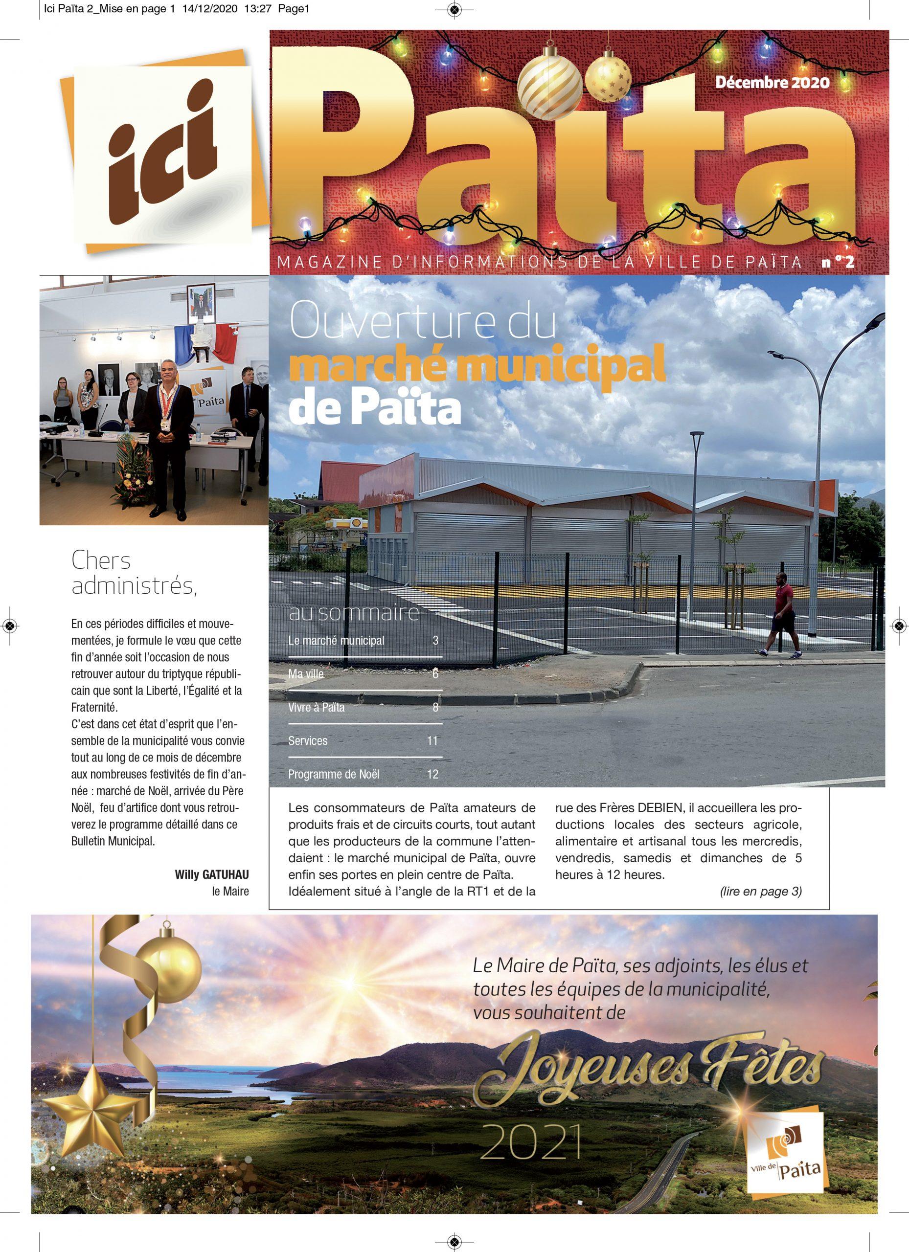 Bulletin Municipal Décembre 2020